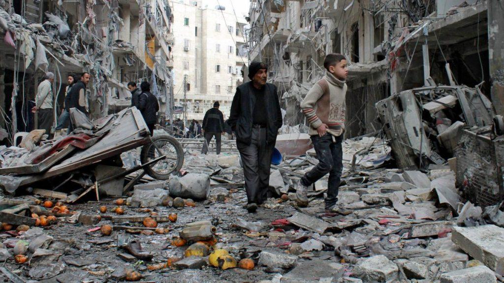 Syria-krigen overgår 2. verdenskrig