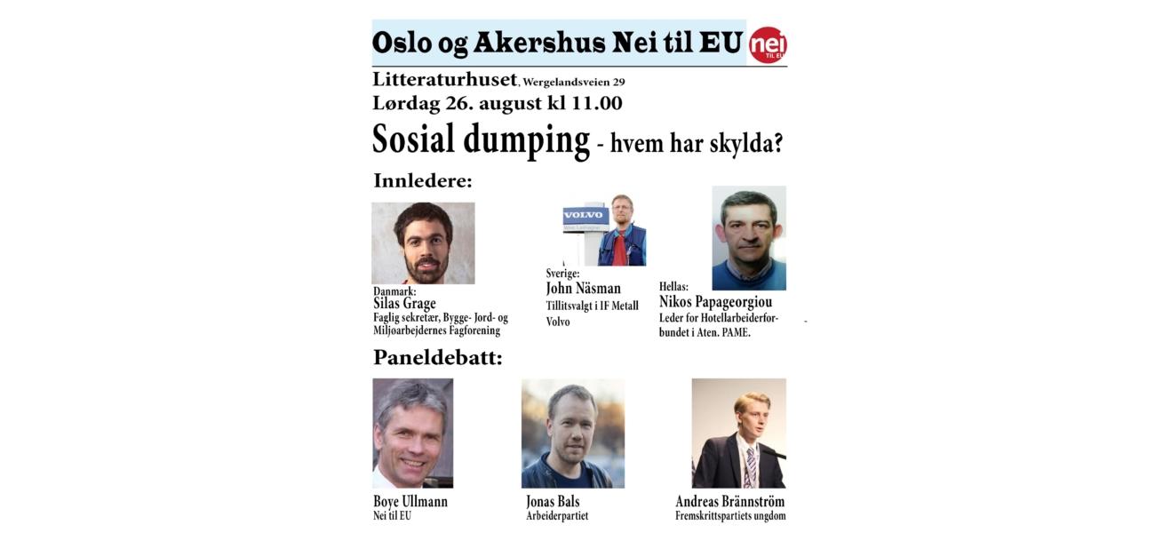 Sosial dumping 6