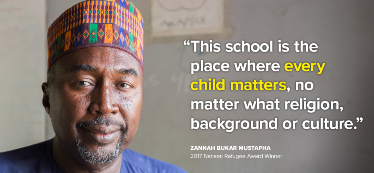 Nansen Refugee Award 2017