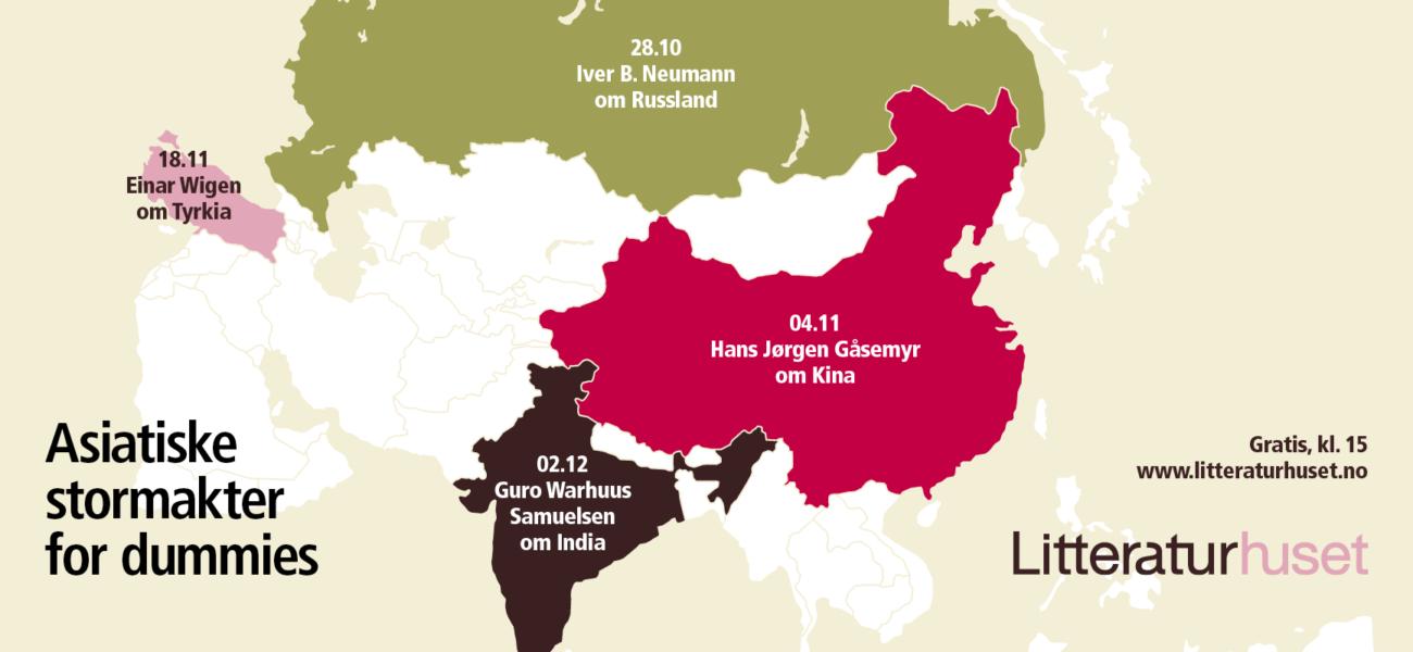 Asiatiske stormakter for dummies
