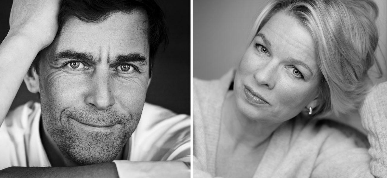 Linn Ullmann og Peter Stamm