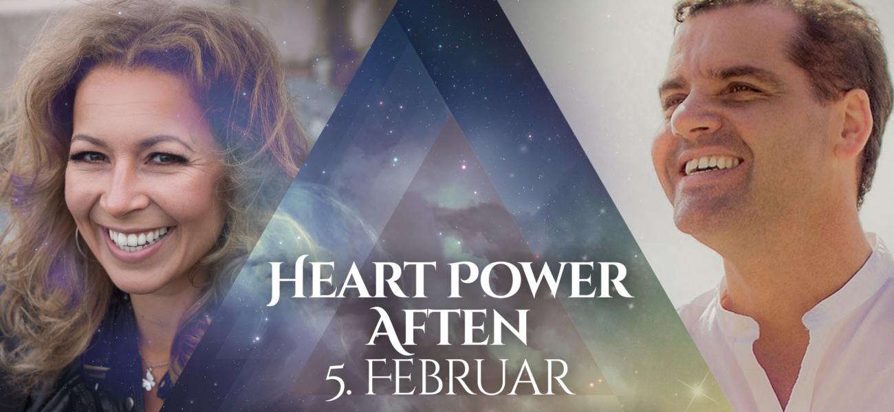 Heart Power Aften med Steinar Ditlefsen & Jannecke Øinæs