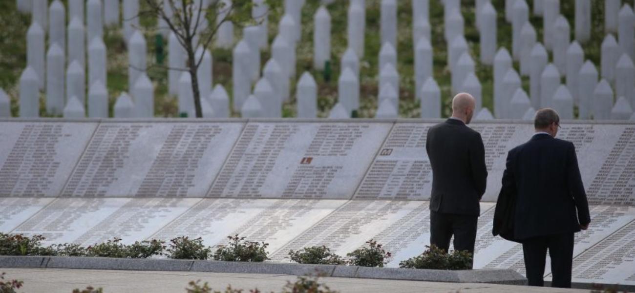 Srebrenica-markering