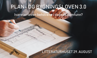 Plan- og bygningsloven 3.0