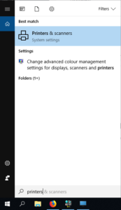 Connecting to the Guest Printer - Windows 7
