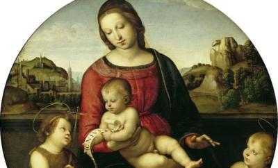 De to Jesusbarn i renessansekunsten med eksempler fra Leonardo og Rafael. 2