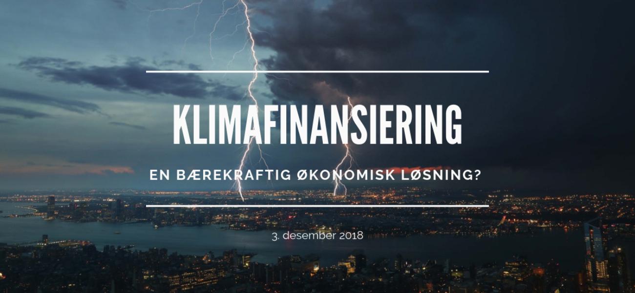 Klimafinansiering