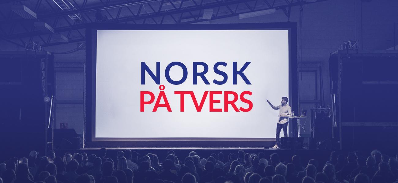 Norsk på tvers
