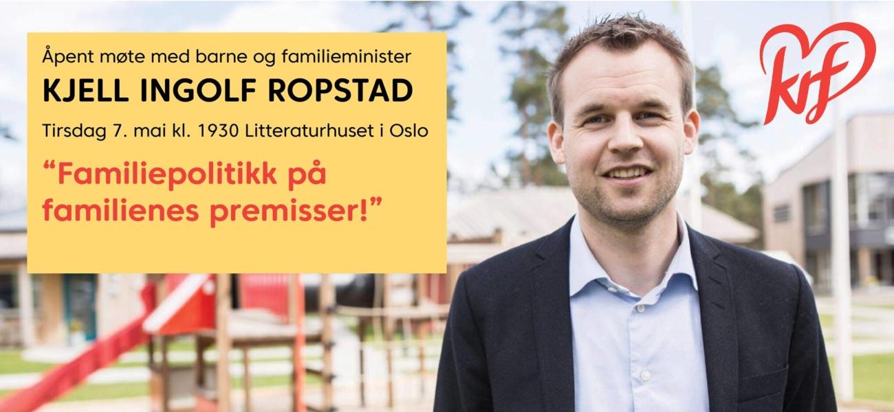 Familiepolitikk med Ropstad