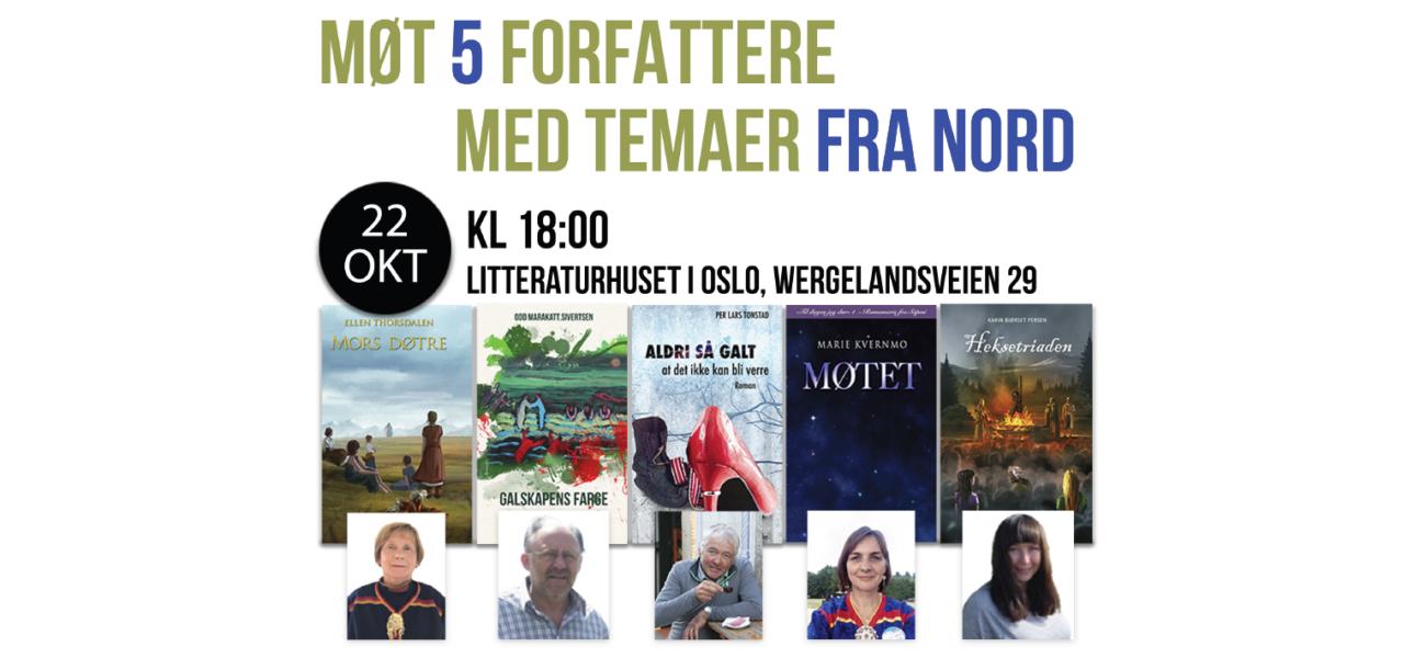 5 forfattere med temaer fra nord