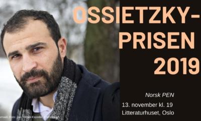 Ossietzkyprisutdeling // Fengslede forfatteres dag