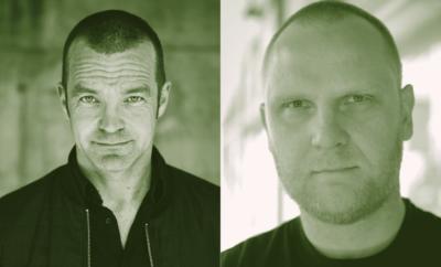 Bjarne Riiser Gundersen og Frank Rossavik 1
