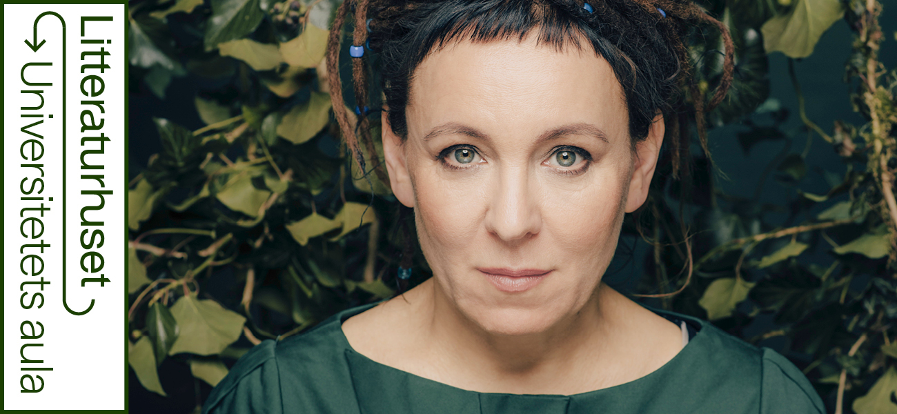 Nobelprisvinner Olga Tokarczuk
