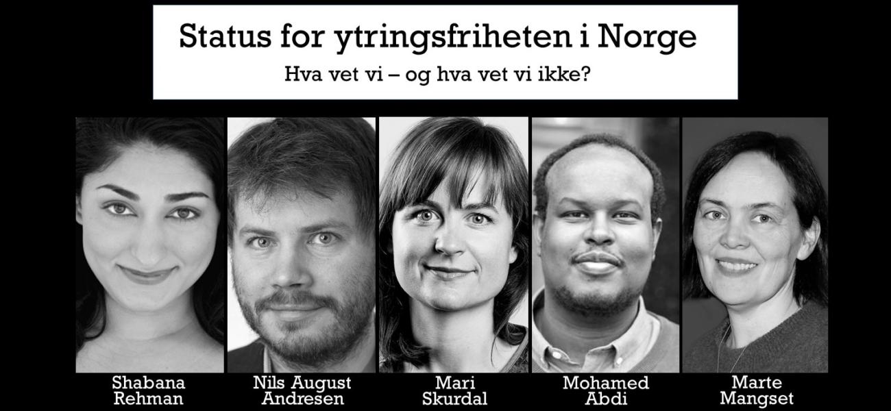 Status for ytringsfriheten i Norge 1