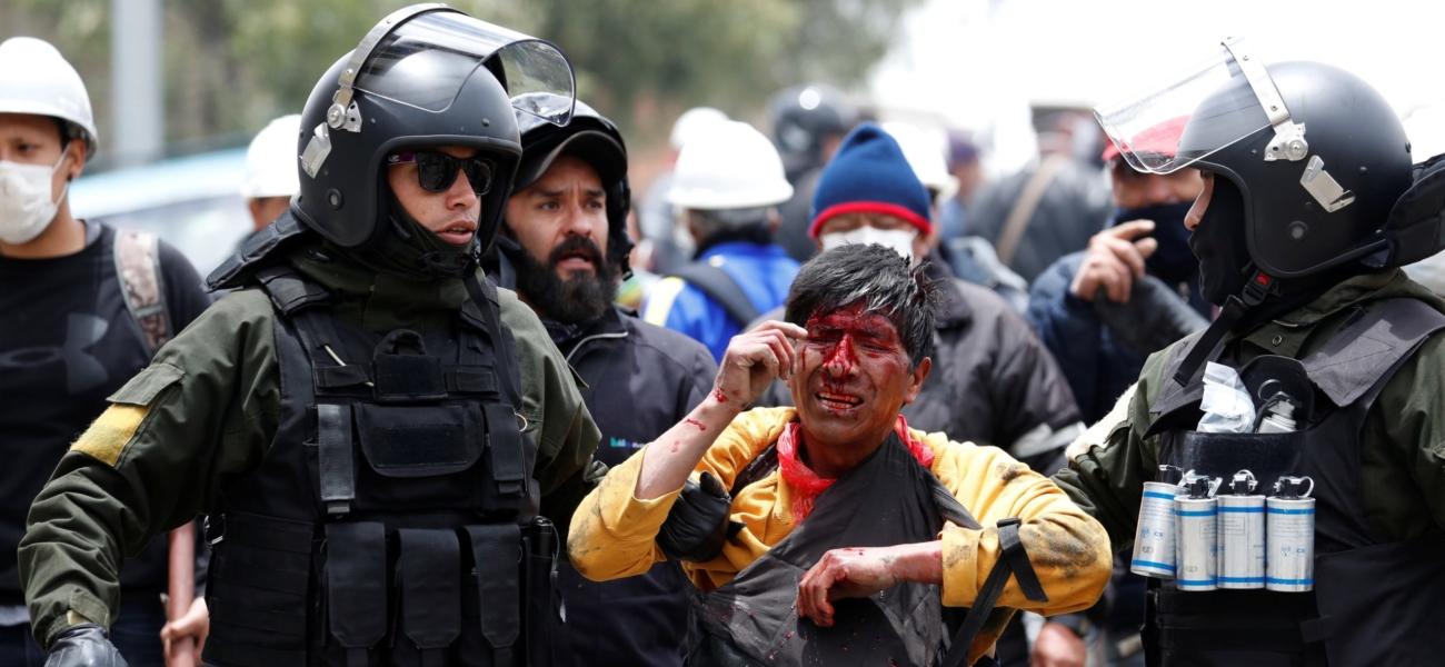 Bolivia etter kuppet