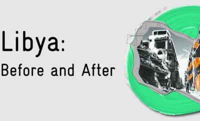 Libya før og etter