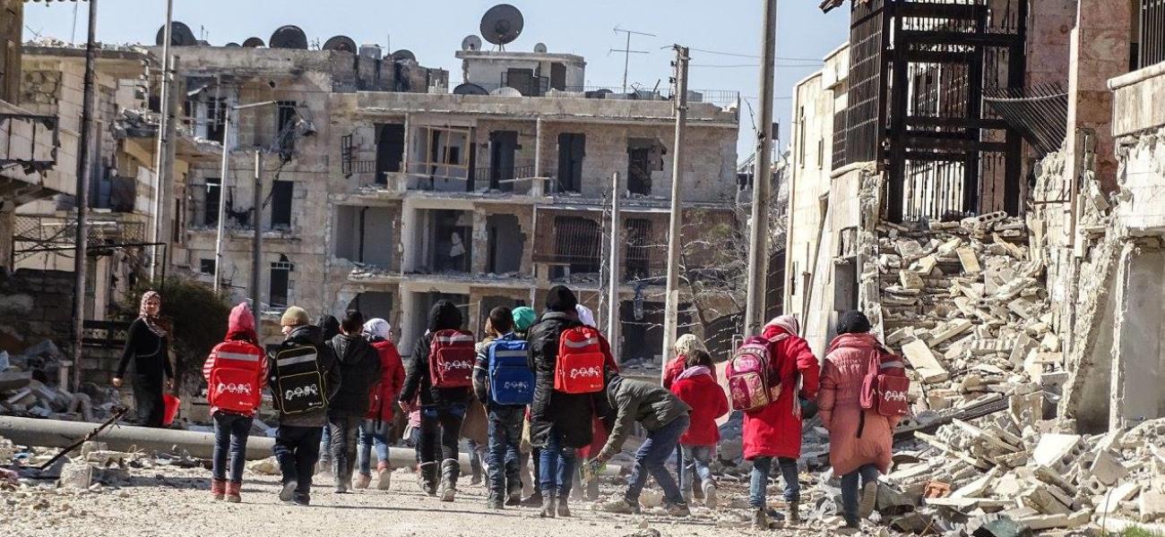 Ti millarder til Syriakrisen