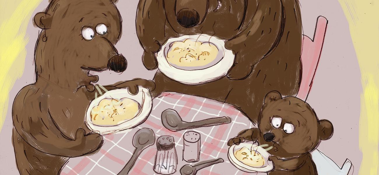 Gullhår og de tre bjørnene