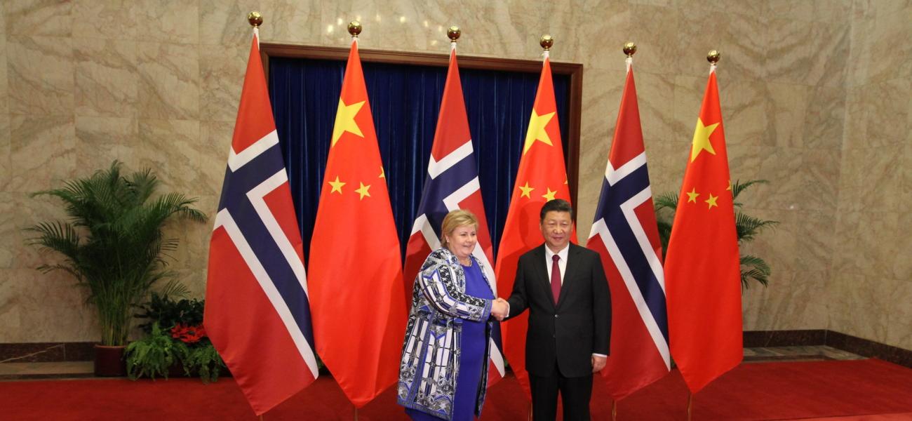 Norge og Kina: frihandel eller ytringsfrihet