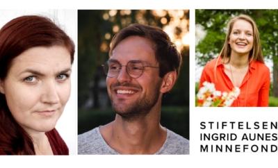 Utdeling av Ingrid Aunes Minnepris