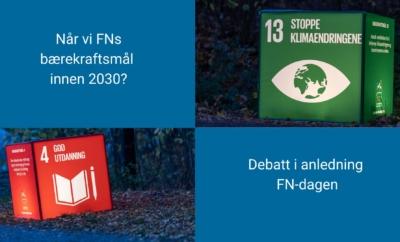 Når vi FNs bærekraftsmål innen 2030?