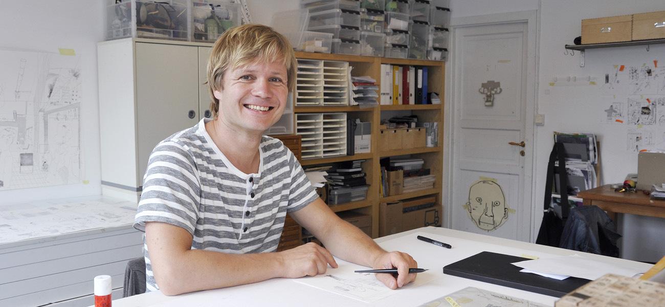 Tegnesnakk med Øyvind Torseter