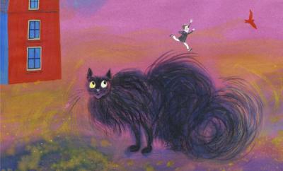 Fire sider av en katt / Cztery strony kota