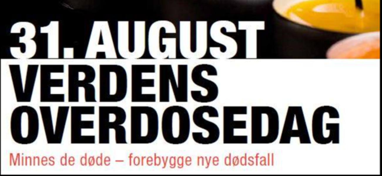 Overdosedagen 31. august